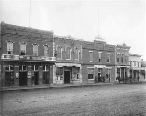 Main street, Bozeman taken in 1890. Do these buildings ...