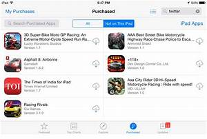 How to Re-download Purchased Apps on iPhone and iPad from ...