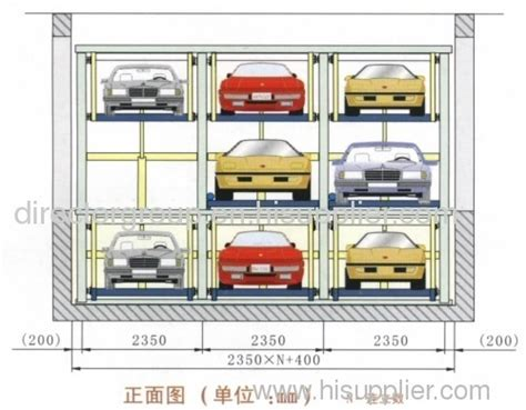 Automatic Puzzle Parking System Parking Lift Products