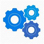 Gears Process Icon System Settings Clipart Icons