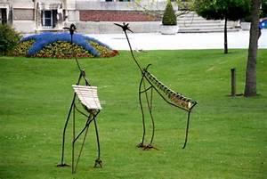 Decoration Jardin Metal : deco jardin exterieur animaux ~ Teatrodelosmanantiales.com Idées de Décoration