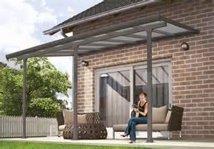 palram feria patio cover grey 10 x 40 feria 4200 patio cover canopy w polycarbonate