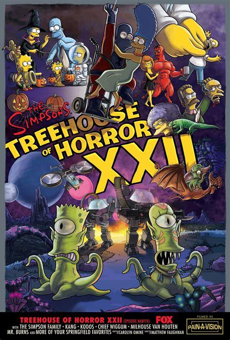 The Simpsons Treehouse Of Horror Horrorpedia