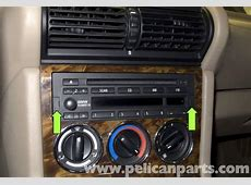 BMW Z3 Radio Removal and Replacement 19962002 Pelican