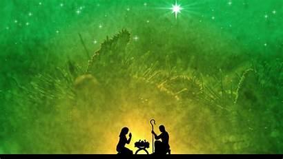 Jesus Christmas Background Parents Motion
