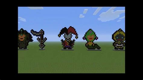 League Of Legends Pixel-art