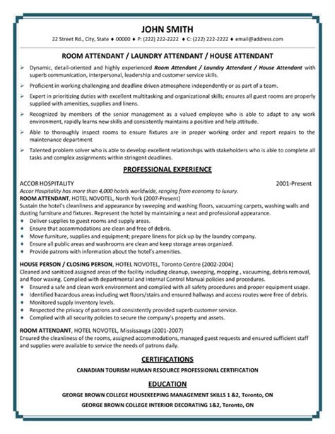 house cleaning professional house cleaning resume sle