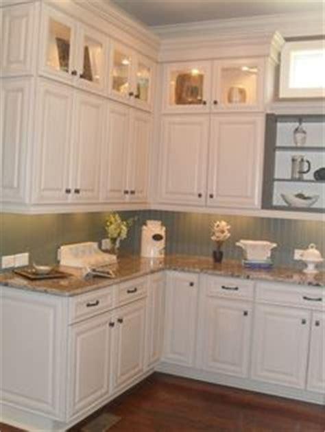black beadboard kitchen cabinets subway tile back splash white cabinets nickel hardware 4648
