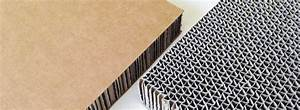 Corrugated Cardboard Sandwich  Left  And Core Material