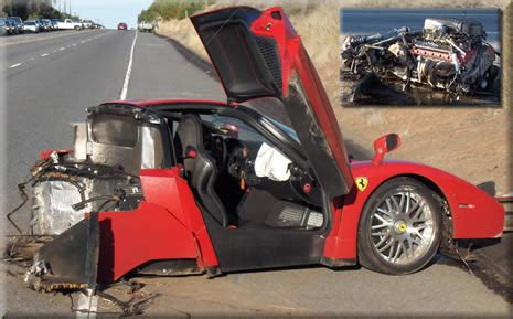 Enzo Crash by Airliners Net Forum Another 1 5 Mil Enzo Going