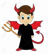 Cute Devil Cartoon