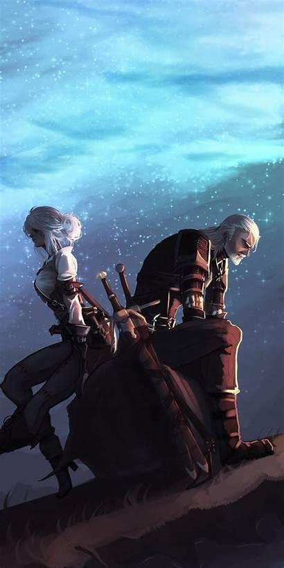 Geralt Ciri Witcher Rivia Fan Cyberpunk Netflix