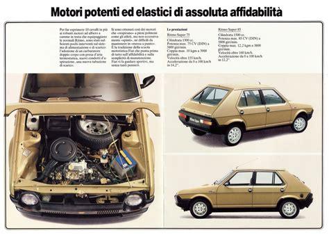 Fiat Ritmo 1984 Fiat Ritmo Pictures Johnywheels