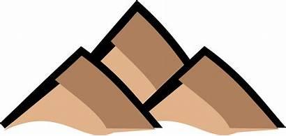 Mountain Mountains Clipart Symbol Map Transparent Cartoon
