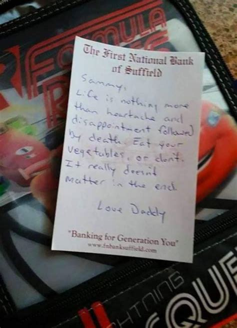 funny notes  parents    feel   home