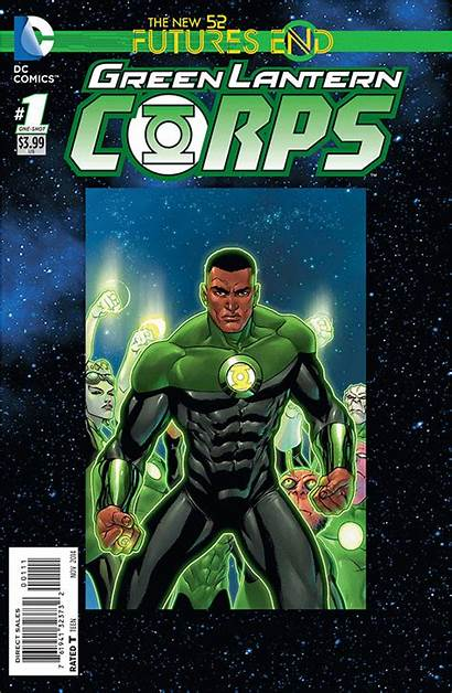 Lantern Comics End Futures 3d Covers Corps