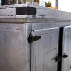 metal kitchen island ilot central en zinc toby vente ilot pour cuisine chez