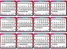 Calendário 2019 Tema Tipo Encadernado Lua Feriado Legenda