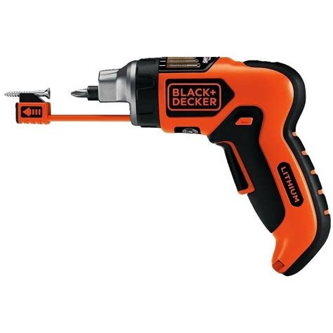 Cordless Lithium Ion Screwdriver Set Black And Decker