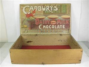 old shop stuff old shop display box cadburys dairy milk With what kind of paint to use on kitchen cabinets for crystal globe candle holder