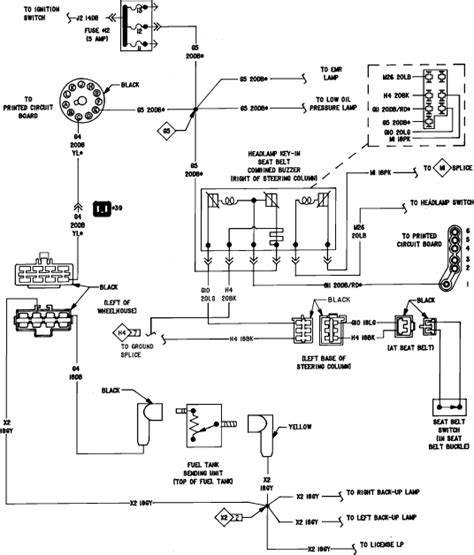 1993 Dodge Truck Dash Wiring Diagram by A Faulty Fuel On 1986 Dodge D150 Reading