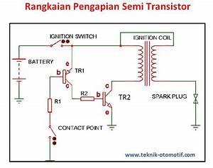 Sistem Pengapian Transistor Dengan Menggunakan Kontak