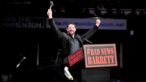 Bad News Barrett Meme - 5 current wwe superstars who need a new finisher the wrestle wreview