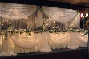 wedding angels decorating ltd wedding planning With wedding party table ideas
