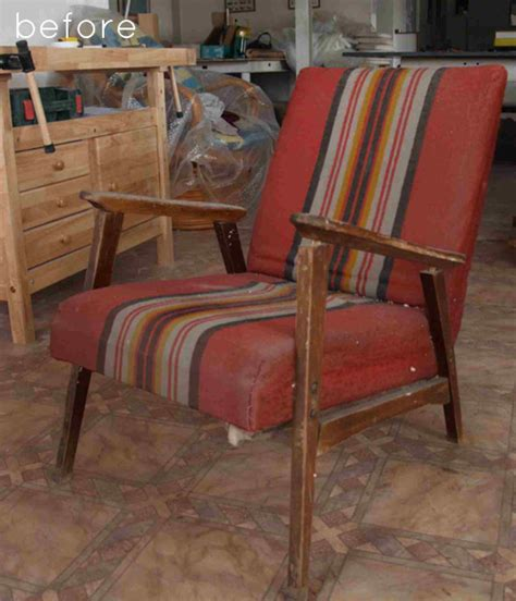 Getting A Chair Reupholstered by Before After Reupholstered Chair Design Sponge