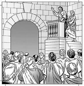 Julius-Caesar-Act-1-opener line illustration