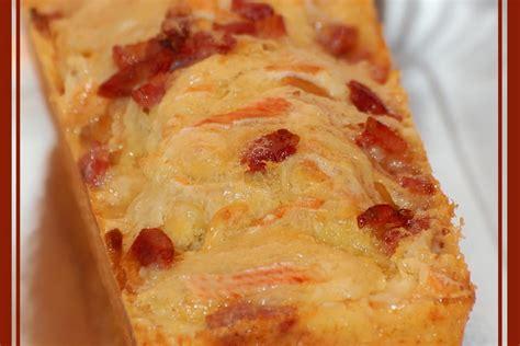 recette de cake au reblochon  aux lardons la recette