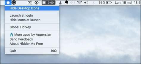 icone bureau mac comment masquer les icônes de bureau mac