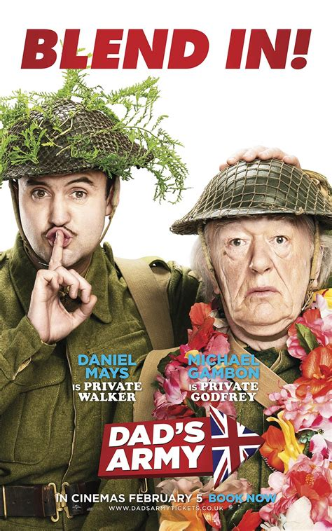 dads army  poster  trailer addict