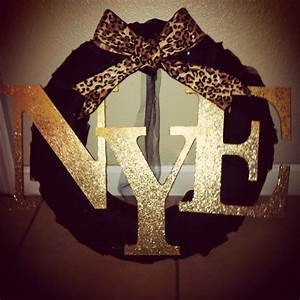 modgepodge and gold glitter on wood letters black foam With gold glitter foam letters