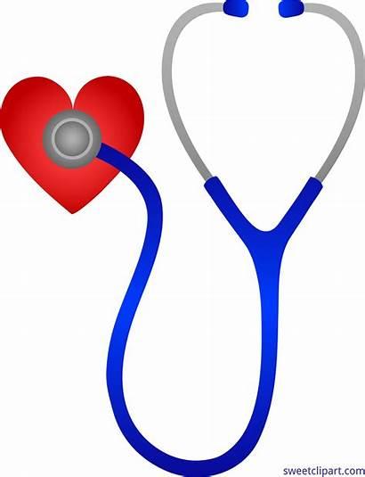 Heart Clipart Doctors Stethoscope Clip Nursing Transparent
