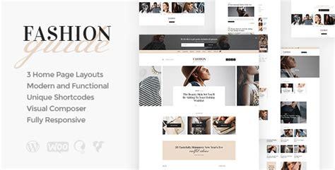 Fashion Guide  Online Magazine & Lifestyle Blog Wordpress
