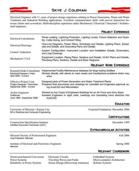 How To Fill White Space On Resume by Entry Level Engineering Resume Or The Exact Resume That Landed Me 4 Offers Engineered