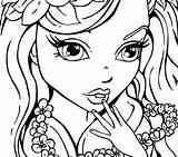 Girly Coloring Pages Printable Sheets Beetlejuice Getcolorings Teen Teens sketch template