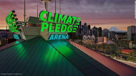 seattles keyarena   renamed climate pledge arena cnn