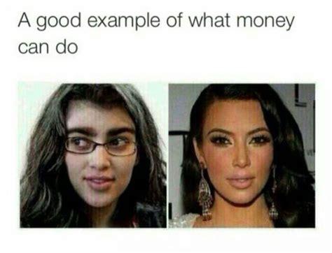 No Makeup Selfie Meme - kim kardashian claims popular kim without makeup meme is fake revelist
