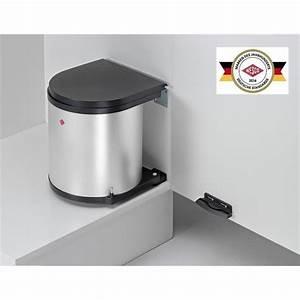 Mülleimer Küche Wesco : wesco einbau abfallsammler m lleimer rund 11 13 15 liter silber edelstahl wei ebay ~ A.2002-acura-tl-radio.info Haus und Dekorationen