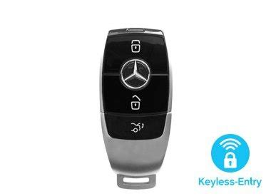 434mhz fcc id new refit smart key shell case 3 button for mercedes benz c class e class cls clk ml b class slk. Want to buy a Mercedes key cover? - CarkeyCover.com