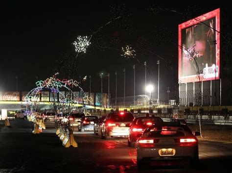 speedway at motor speedway on the cheap - Charlotte Speedway Christmas Lights