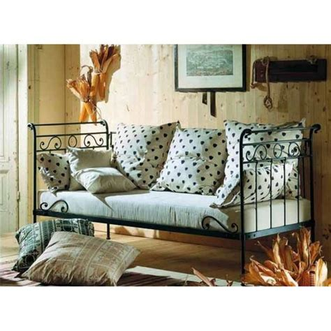 canapé lit en fer forgé canapé lit en fer forgé modèle avril achat vente