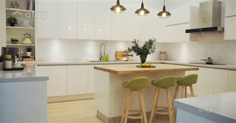 modern kitchen cabinet designs  malaysian interior