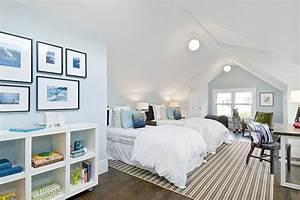 idea for turning bonus room into bedroom