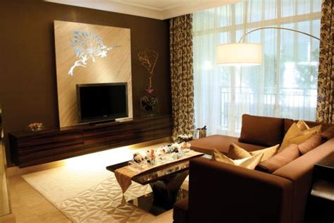 brown cream living room ipc unique living room designs al habib panel doors