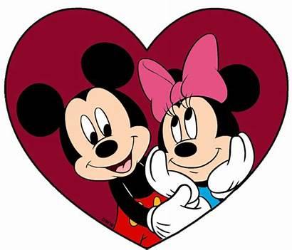 Minnie Mickey Mouse Valentines Clipart Disney Valentine