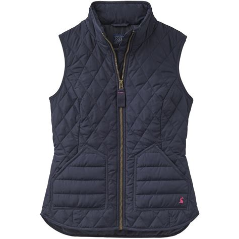 womens quilted vest joules womens honour quilted gilet bodywarmers