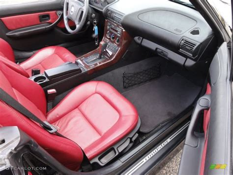 bmw red interior red interior 1998 bmw z3 2 8 roadster photo 54715735